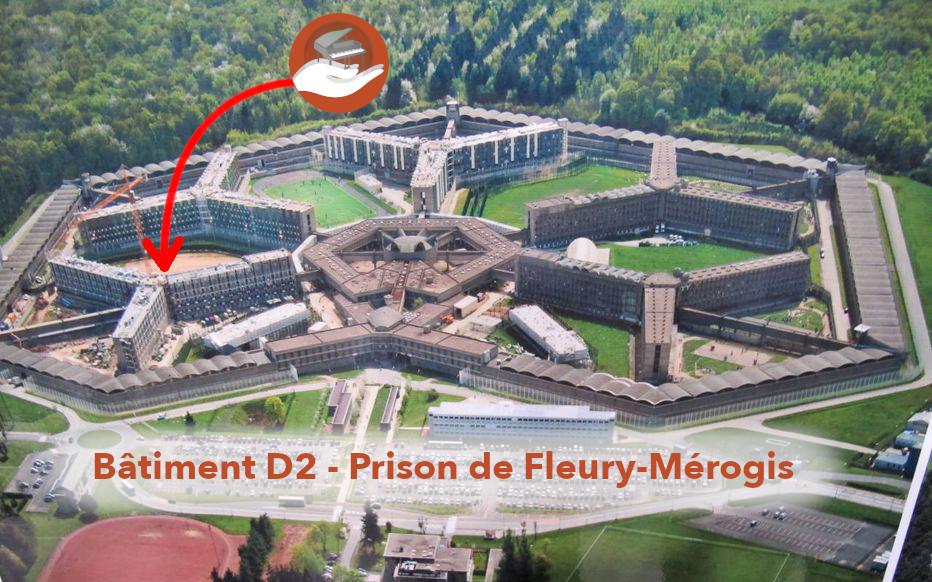 Fleury-Mérogis : un piano au bâtiment D2