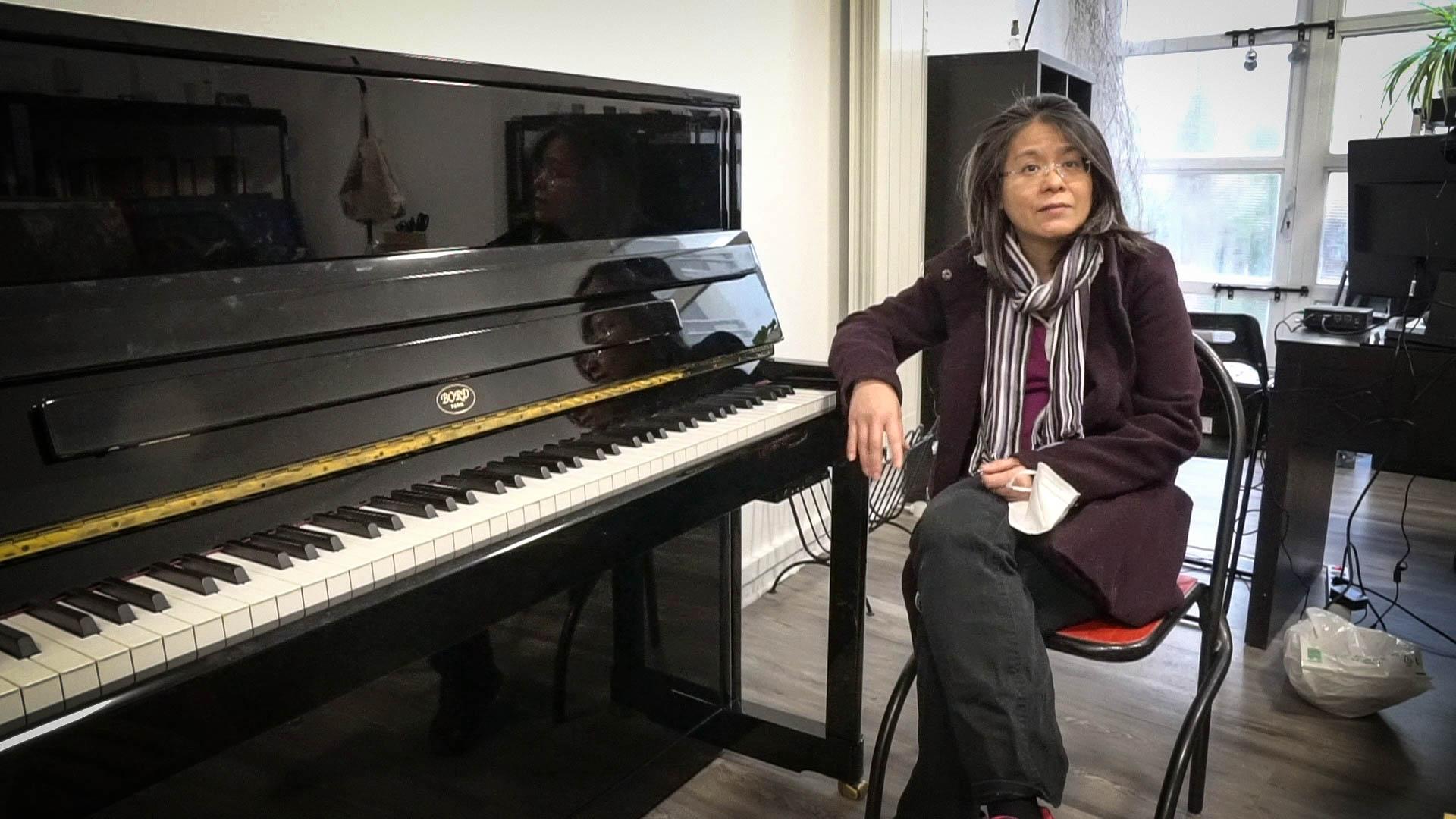 Don d'un piano Bord aux Zatypiks (vidéo)